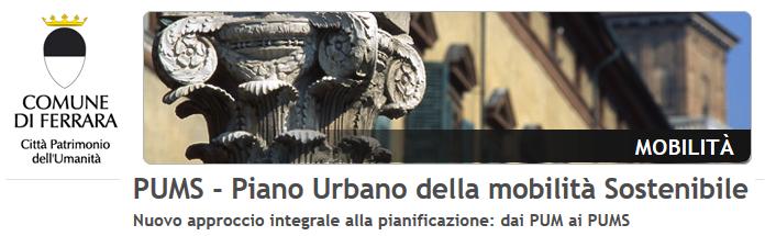 Approvato all'unanimità il PUMS di Ferrara