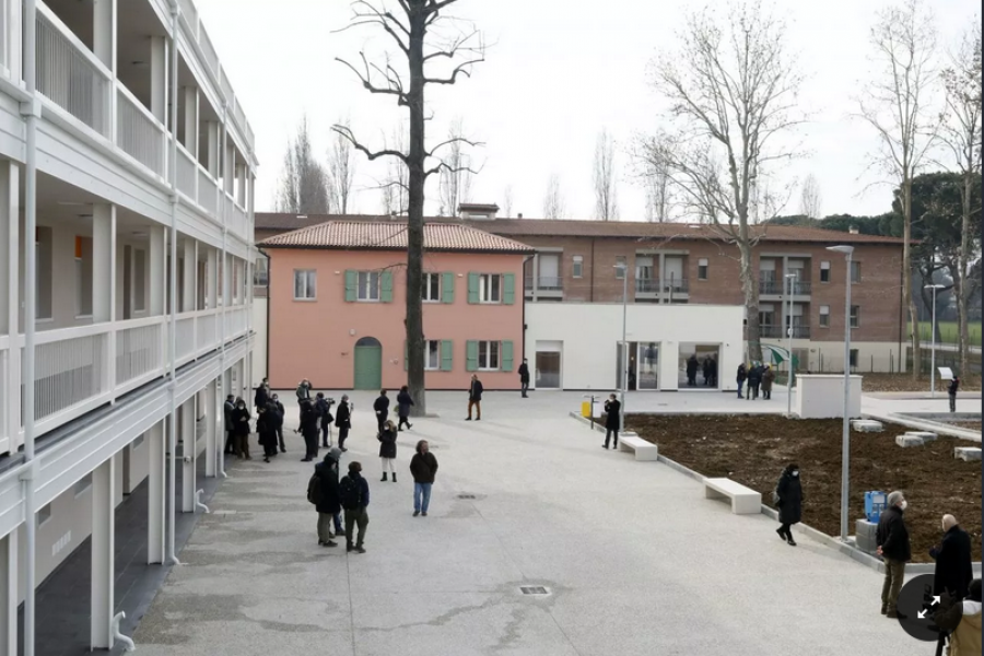 Ex Villa Salus Bologna: ora è un condominio virtuoso e solidale